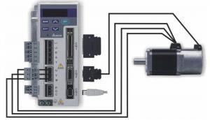Сервопривод - это комплектный привод, состоящий из электронного блока управления (сервоусилителя) и сервомотора.