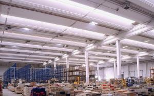 Воздушное отопление цеха, склада, магазина или спортзала: - водяные воздухонагреватели (воздушно-отопительные...